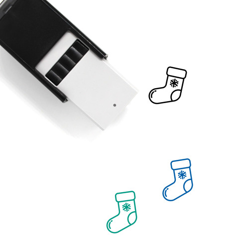 Stockings Self-Inking Rubber Stamp No. 36