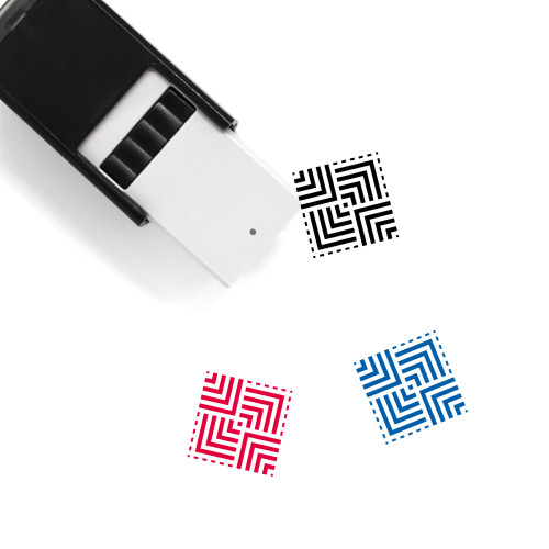 Pyramids Self-Inking Rubber Stamp No. 37