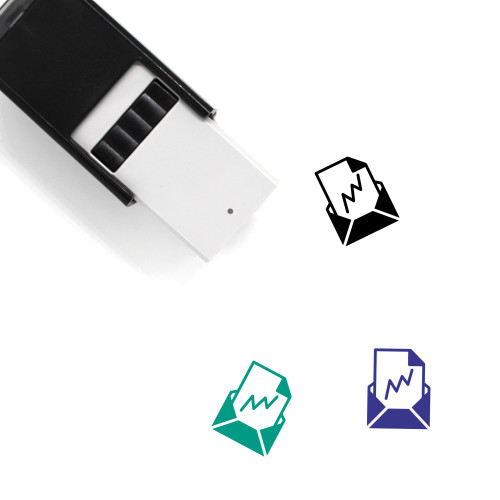 Attachment Self-Inking Rubber Stamp No. 52