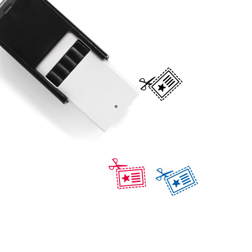 Coupon Self-Inking Rubber Stamp No. 15