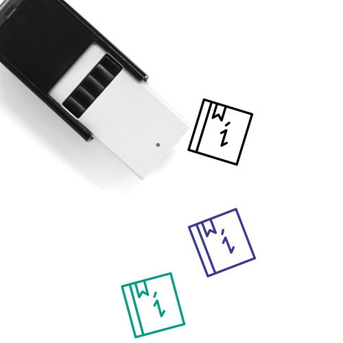 Info Self-Inking Rubber Stamp No. 169