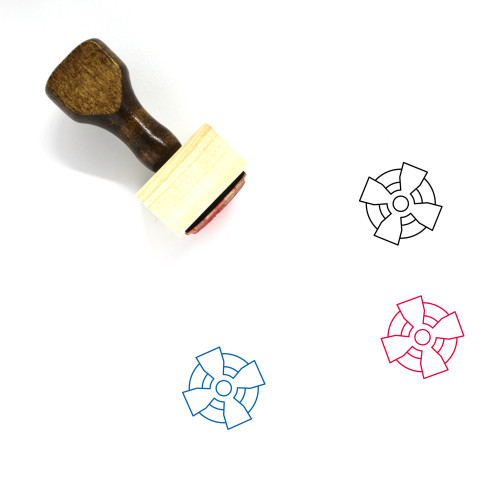 Celtic Cross Wooden Rubber Stamp No. 12