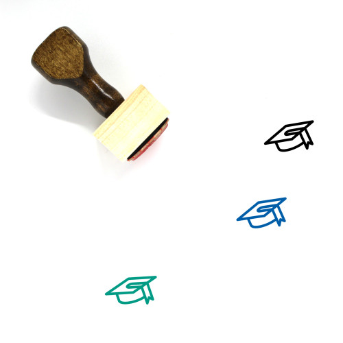 Education Wooden Rubber Stamp No. 164