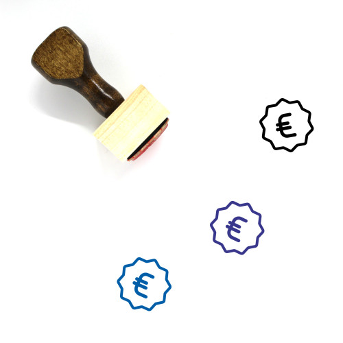 Price Wooden Rubber Stamp No. 40