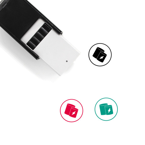 Cache Self-Inking Rubber Stamp No. 1