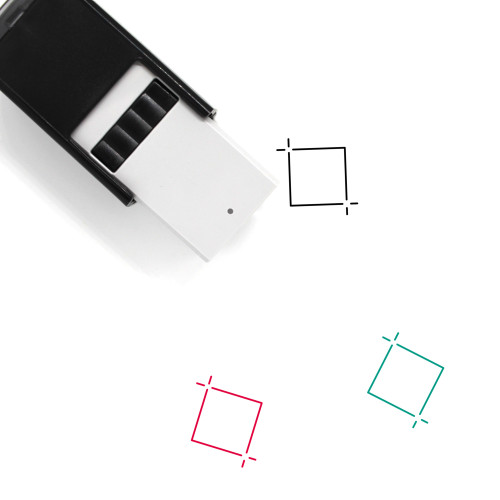 Cropping Self-Inking Rubber Stamp No. 4