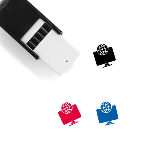 Global Network Self-Inking Rubber Stamp No. 56