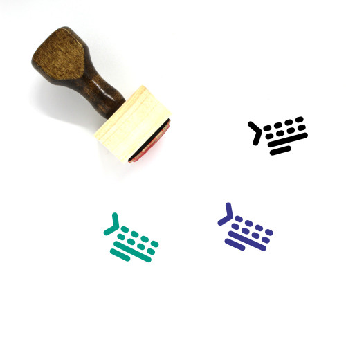 Add Space Before Paragraph Wooden Rubber Stamp No. 5