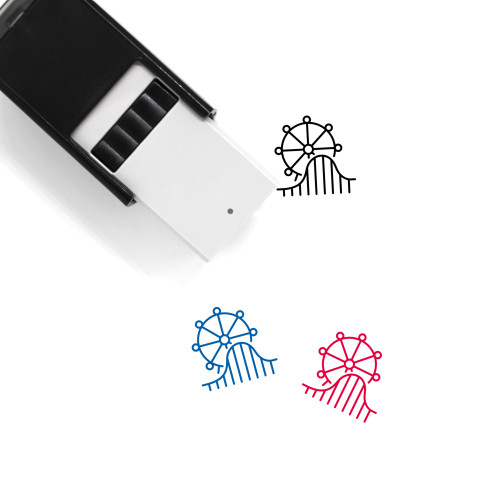 Amusement Park Self-Inking Rubber Stamp No. 18