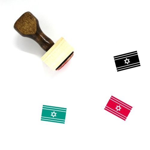 Israel Wooden Rubber Stamp No. 39