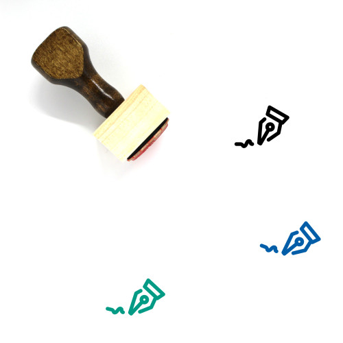 Signature Wooden Rubber Stamp No. 10