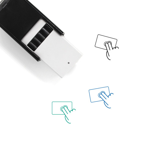 Click Self-Inking Rubber Stamp No. 48
