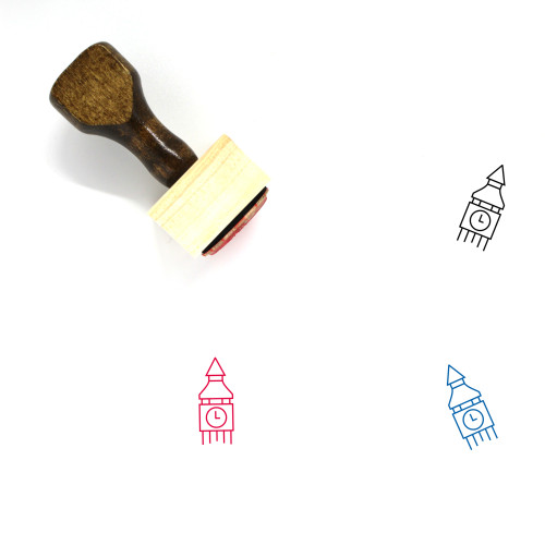 London Wooden Rubber Stamp No. 21