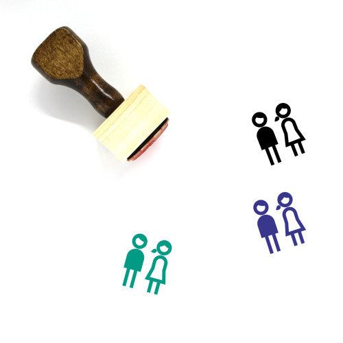 Students Wooden Rubber Stamp No. 31