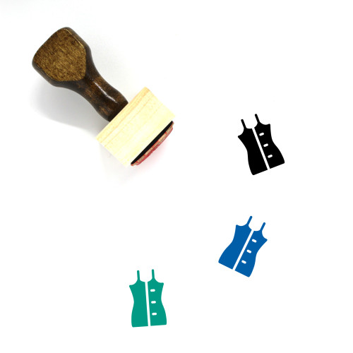 Fashion Wooden Rubber Stamp No. 165
