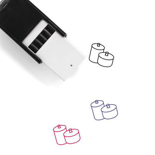 Cookware Self-Inking Rubber Stamp No. 14