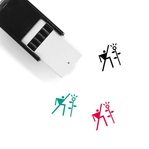Growing Self-Inking Rubber Stamp No. 34