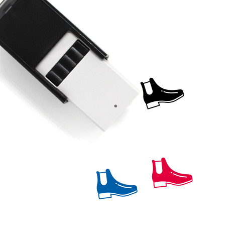 Chelsea Boot Self-Inking Rubber Stamp No. 2