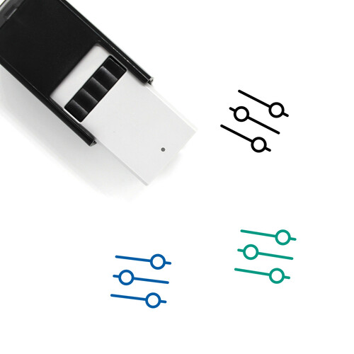 Audio Control Self-Inking Rubber Stamp No. 19