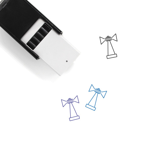 Lighthouse Self-Inking Rubber Stamp No. 154