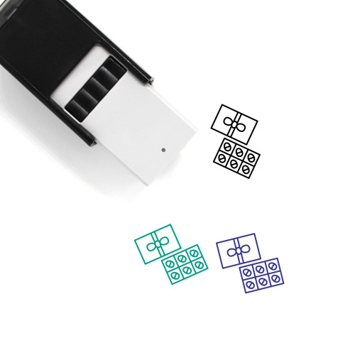 Easter Eggs Self-Inking Rubber Stamp No. 144