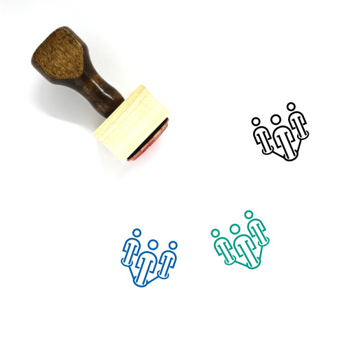Leadership Wooden Rubber Stamp No. 43