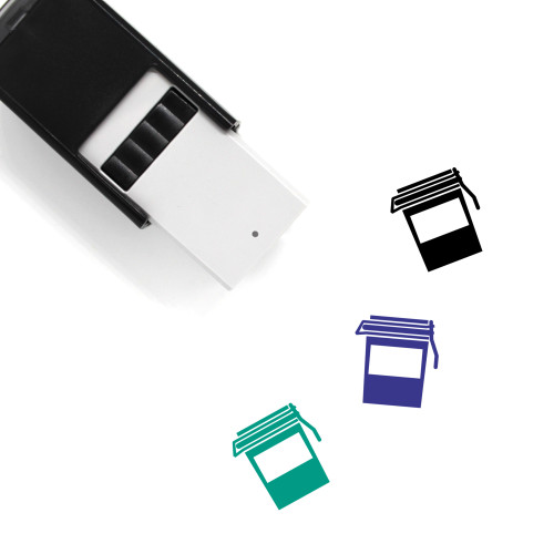 Jam Self-Inking Rubber Stamp No. 10
