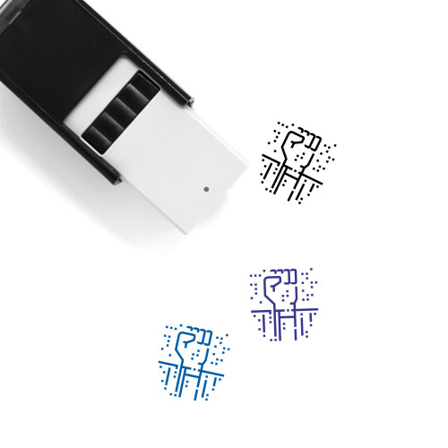 Brute Force Self-Inking Rubber Stamp No. 1