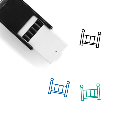 Crib Self-Inking Rubber Stamp No. 41