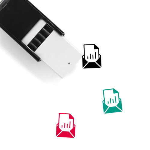 Attachment Self-Inking Rubber Stamp No. 54