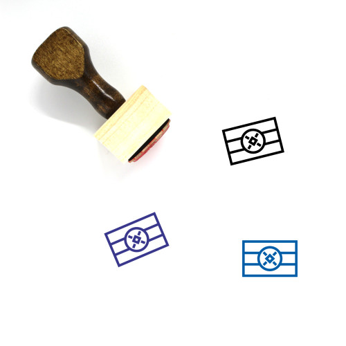 Ethiopia Wooden Rubber Stamp No. 37