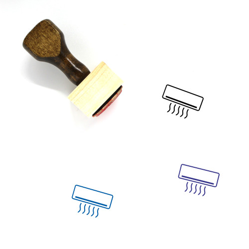 Ac Wooden Rubber Stamp No. 2