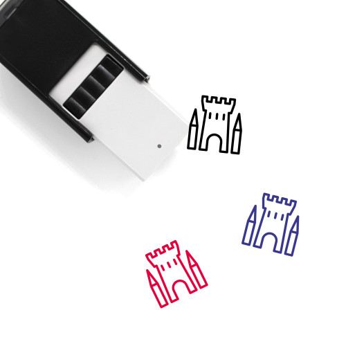 Castle Self-Inking Rubber Stamp No. 240
