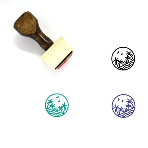Nature Wooden Rubber Stamp No. 181