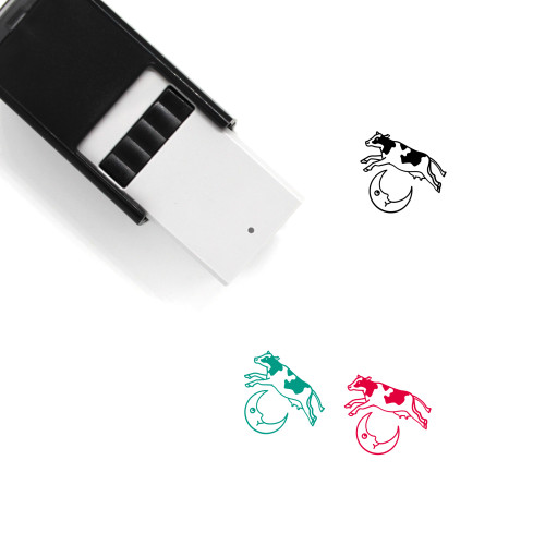 Cow Self-Inking Rubber Stamp No. 27