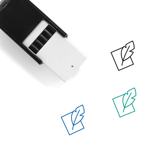 Contract Self-Inking Rubber Stamp No. 87