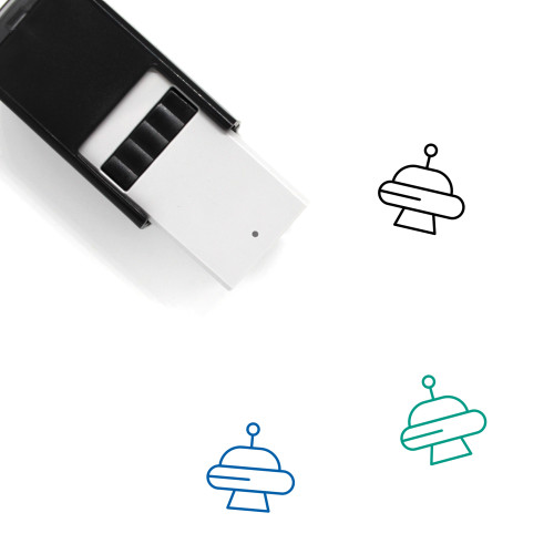 Abduction Self-Inking Rubber Stamp No. 4