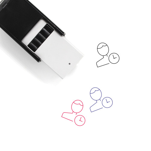 User Time Self-Inking Rubber Stamp No. 10