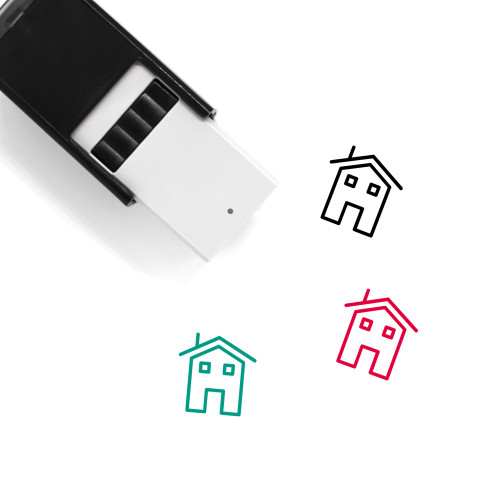 House Self-Inking Rubber Stamp No. 432