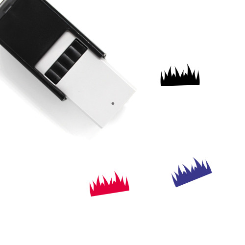 Grass Self-Inking Rubber Stamp No. 57