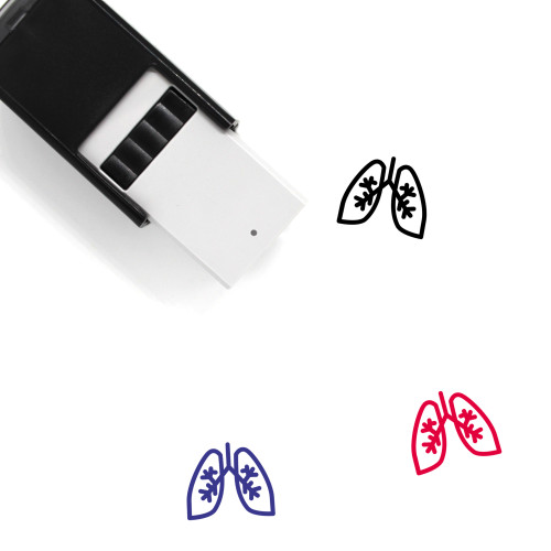 Lungs Self-Inking Rubber Stamp No. 70