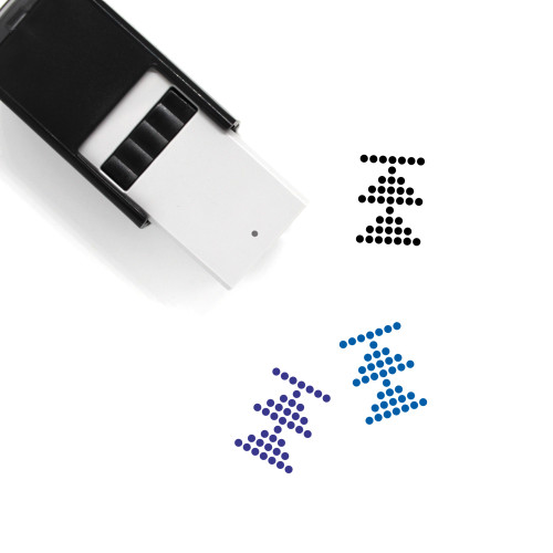 Arrow Up Self-Inking Rubber Stamp No. 59