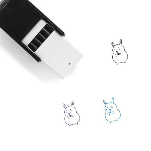 Rabbit Self-Inking Rubber Stamp No. 277