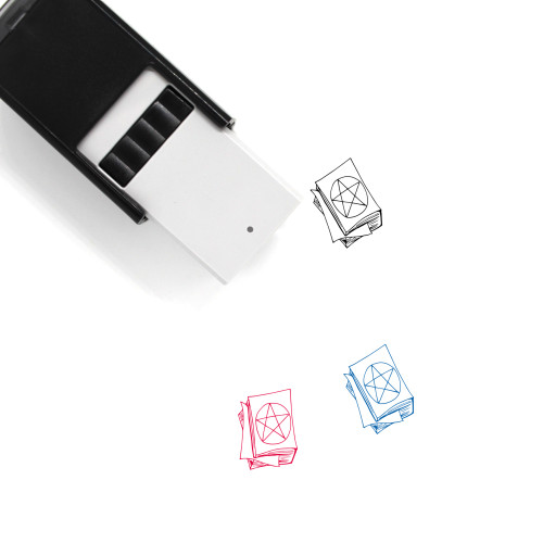 Magic Book Self-Inking Rubber Stamp No. 4