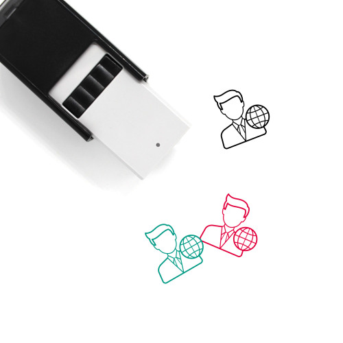 World Representative Self-Inking Rubber Stamp No. 1