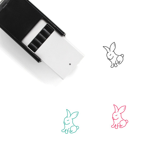 Rabbit Self-Inking Rubber Stamp No. 278