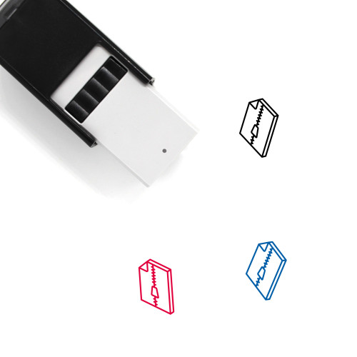Compressed File Self-Inking Rubber Stamp No. 21