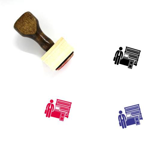 Lawyer Wooden Rubber Stamp No. 70