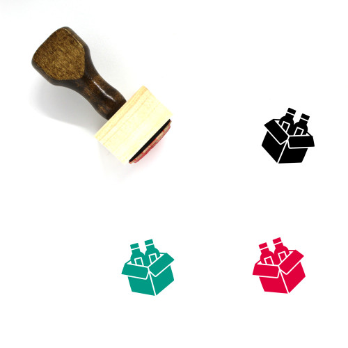 Packing Wooden Rubber Stamp No. 20