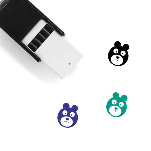 Bear Self-Inking Rubber Stamp No. 154